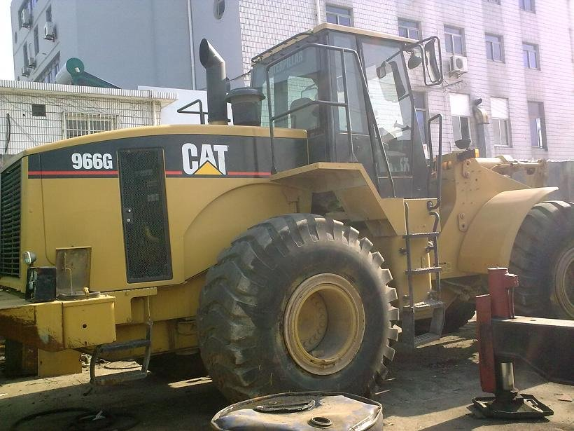 Exports Used Construction Machines & Equipment Wheel Loader Caterpiller CAT966G