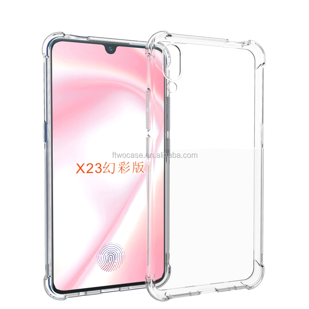 Four Corner Shockproof Soft TPU Bumper Case For VIVO X23 Symphony