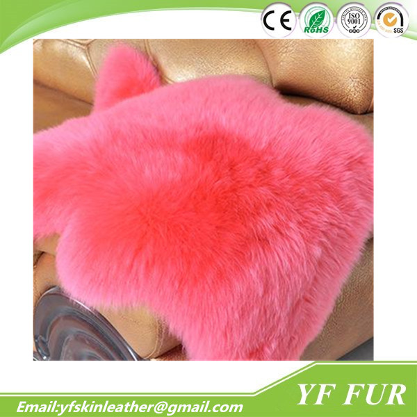 Buy Factory Sheep Skins Real Genuine Fur Small Brown China Manufacturer Sheepskin Pelts Furry Area Lamb Rugs For Sale