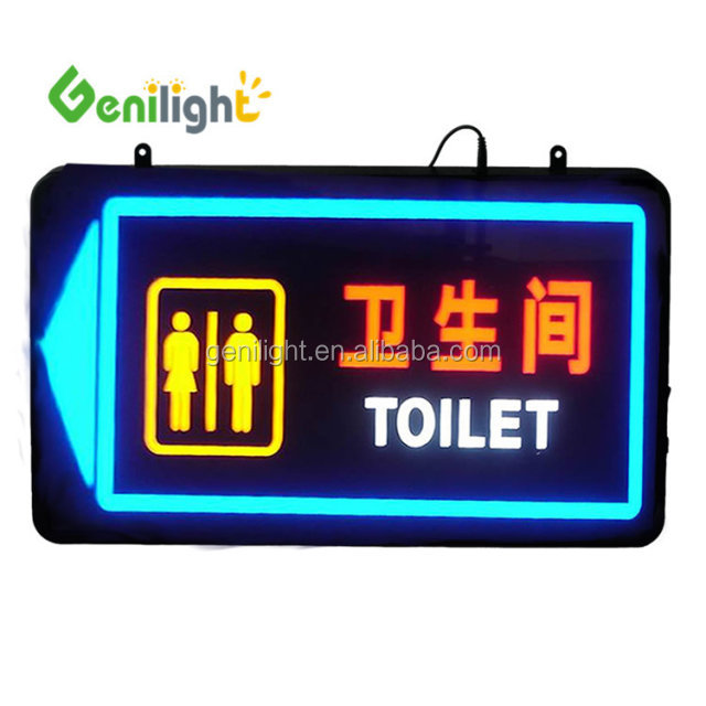 Custom Toilet Man and Woman led neon sign