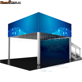 6 x 6 m Exhibition Event Double Desk Booth