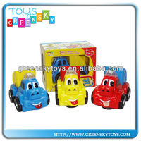 2013 New style!!!B/O plastic Cartoon Car,Electric toys cartoon, B/O cartoon shop truck