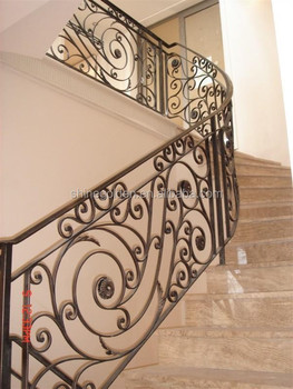Durable and competitive curved interior railing SG-15H002
