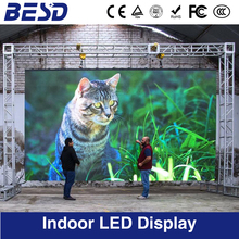 BESD Factory Indoor SMDP3.91/P4.81 500x500mm led screen rental panel / led screen display