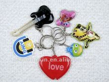 Colorful promotional gift led keychain
