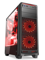 Visual Perspective Gaming Case with Excellent Cooling System