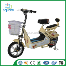2016 new product hot sale top quality rechargeable battery electric moped bike