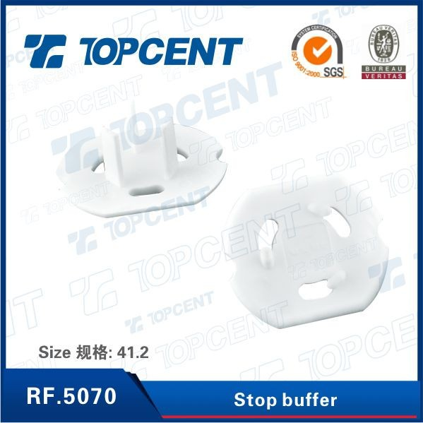 [RF.5070] Noise reduction stop buffer for office furniture drawer