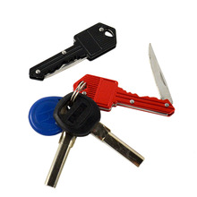 Stainless Steel Mini Portable Key Survival Folding Camping Knife