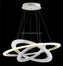 modern circle pendant light acrylic crystal chandelier wedding cake stand
