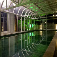 Customized Glass Room for Swimming Pool / Aluminum Sunrooms
