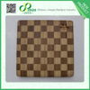 Very Cheap and high quality double color square bamboo cutting board