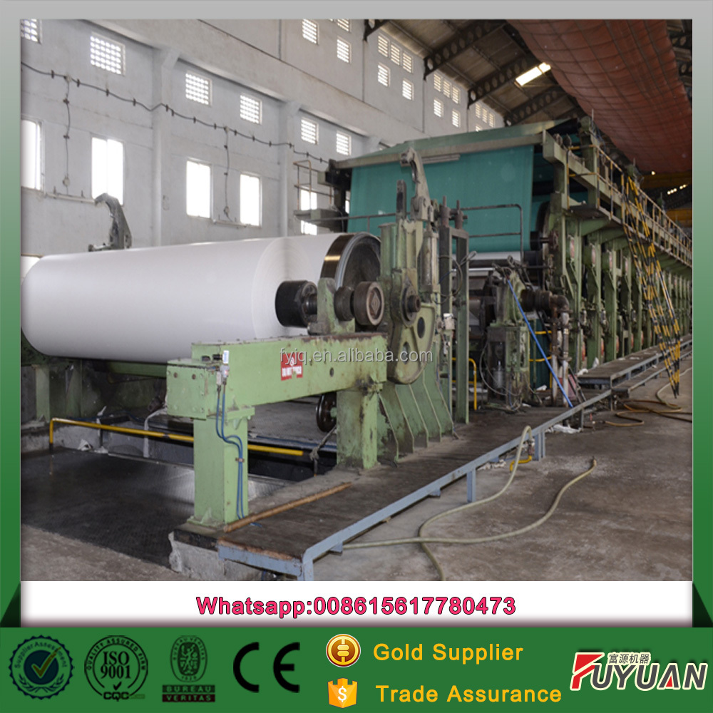 exercise book paper writing paper production line of waste paper
