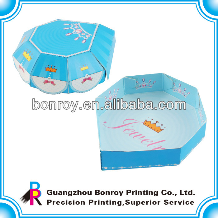 Charming shape candy paper box