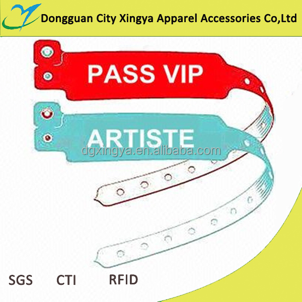 cheap wholesale fancy custom logo plastic wrist band