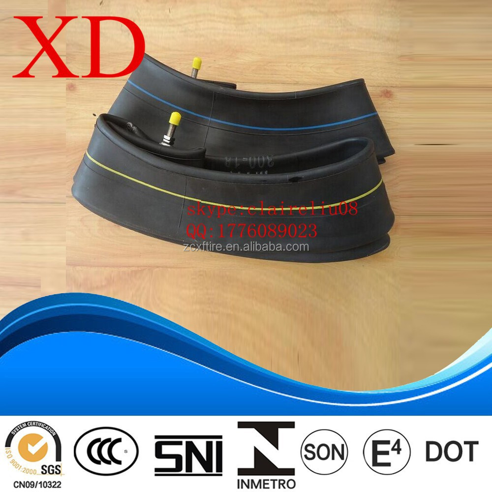 Natural Rubber Top Quality motorcycle Inner Tube 3.00-12