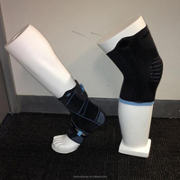 fiberglass knee sports form mannequin