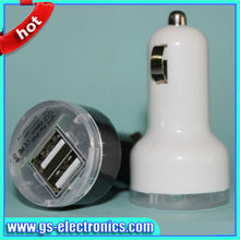 Dual Ports USB Car Charger For iPhone 5