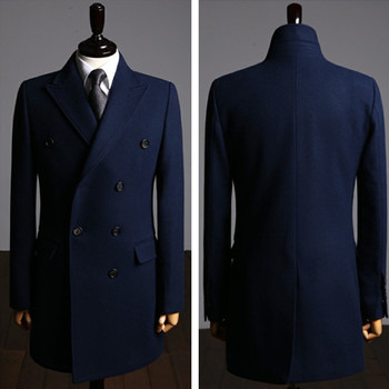 Favorites Compare Bespoke Mens Wool Cashmere Overcoat