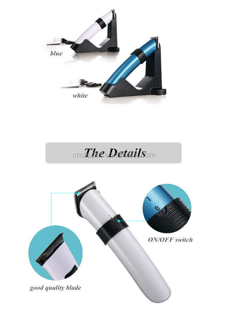 Professional chargeable Electric Mini Hair Clipper Beard Trimmer