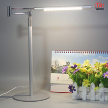 Direct deal silver case cool led desk lamps
