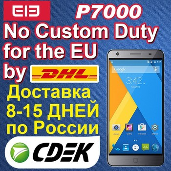 "New Arrival! Elephone P7000 5.5"" FHD Screen 4G LTE Cell Phone MTK6752 64bit Octa Core 3GB RAM Android 5.0 16+8MP"