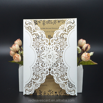 2015 latest 300g wedding card card design