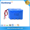 Factory price 18650 9600mah 11.1v li-ion battery pack for electronic product