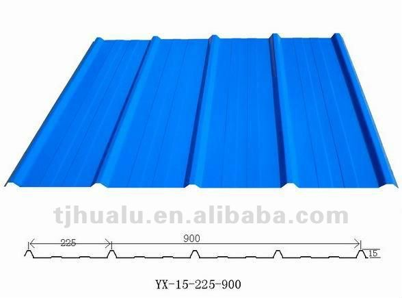 Sea Blue Wave tile/Corrugated Steel Coil