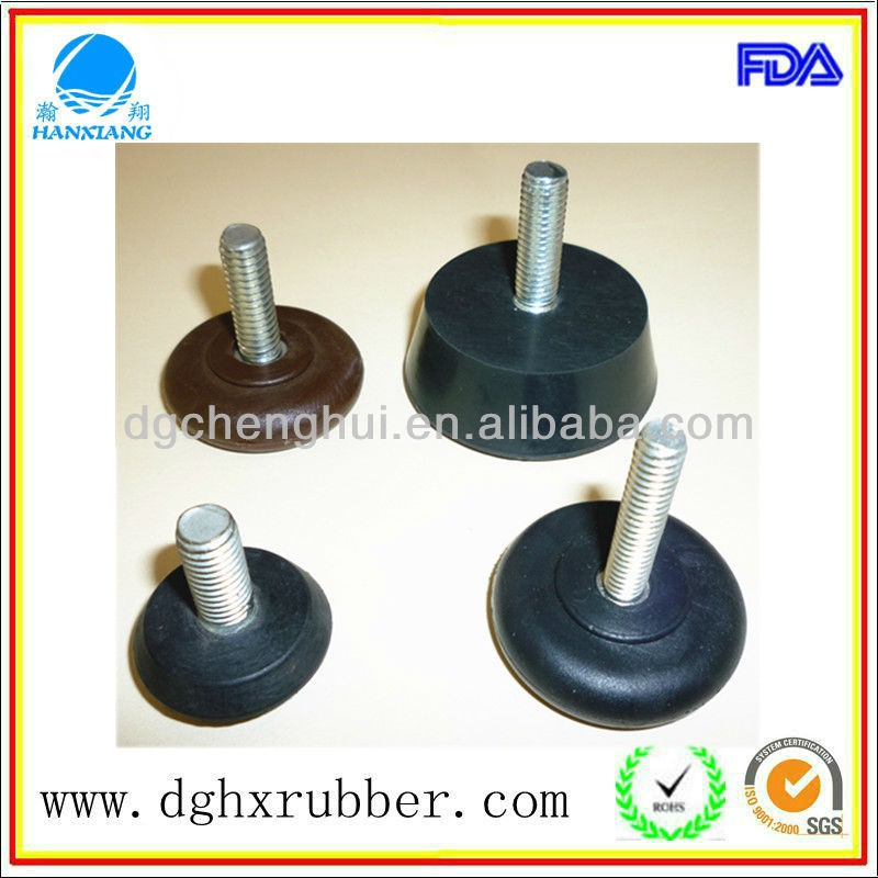 2013 soft/hard self-adhesive small rubber feet