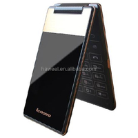 IN STOCK LENOVO HOT SALE Original Lenovo A588t 4 Inch TFT Screen Android 4.4 4GB Vertical Flip Smart Phone lenovo a588t