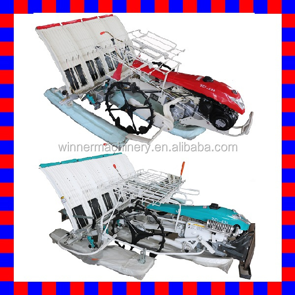 2016 new promotion best low price 4 rows 2ZF-430 and 6 rows 2ZF-630 TYM type and Kubota type walking type rice transplanter