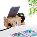 Phone Stand Charge Dock Holder with 3 USB Ports