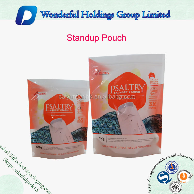 white plastic bag with heat sealed doypack with zipper laminated resealable delicated cute foil packaging bag