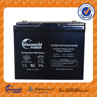High performance 12v70ah Deep cycle AGM battery OEM Brand name