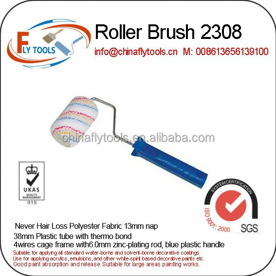 Mini painting roller brush