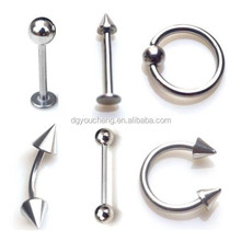 Labret Stud Eyebrow Nose Rings Basic Body Piercing
