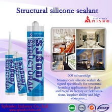 structural silicone sealant/ SPLENDOR high quality cheap silicone sealants/ anti fungus silicon sealant