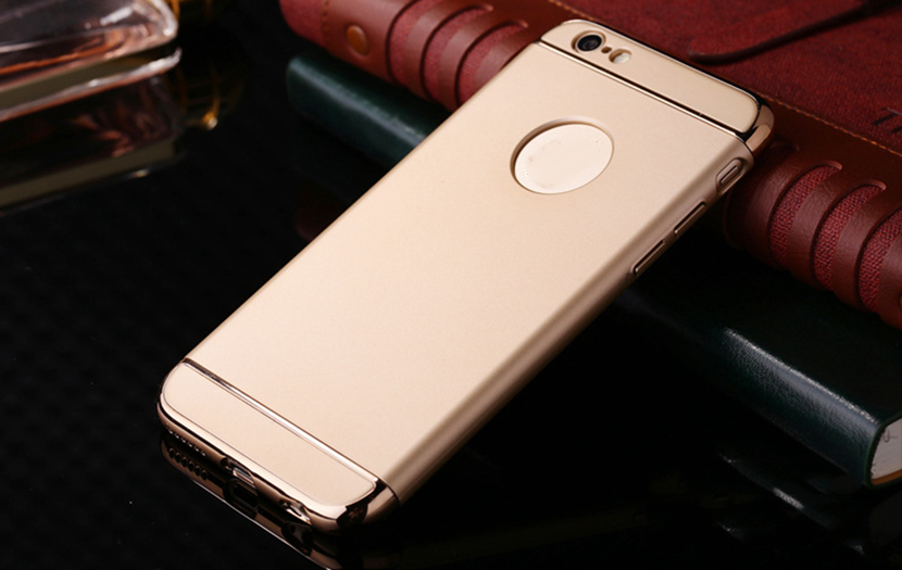 New style 3 in 1 phone case with high class plastic material bumper case for iphone5/6/6 plus case