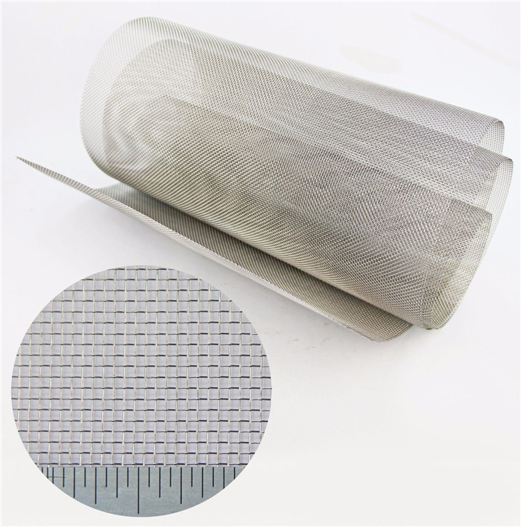 1 2 3 5 10 20 50 65 100 Micron 304 316 904 430 310S Stainless Steel Filter Sieve Woven Wire Mesh
