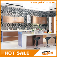 High Quality Aluminium Kitchen Cabinet Color Combination, China Kitchen Cabinet Factory