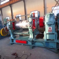 Mixing mill in rubber and plastic