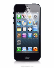 High Transparence Anti-Shock PET Screen Protector For iPhone5