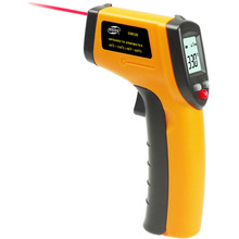 BENETECH Digital Infrared Thermometer, <strong>Temperature</strong> Range: -50 - 330 Degree (GM320)(Yellow)