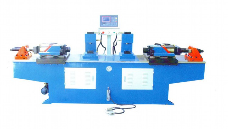 T-M40 prime quality double head steel tube end forming machine