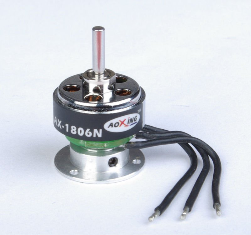 DC micro brushless motor AX-1806N 2100/2500kv motor for small aircraft and flying wings