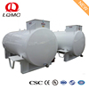 10000liter onground diesel fuel skid tank with filling pump