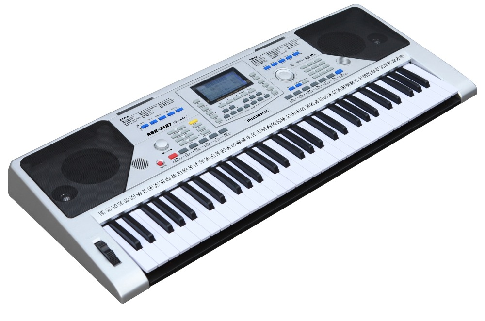 Easy electronic keyboard wooden keyboard musical instruments