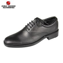 Hotselling Army Ceremonial Black Leather Military Officer Men Shoes