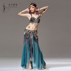 Extraodinary New Sexy Arab Tribal Belly Dance Skit Dance Costume